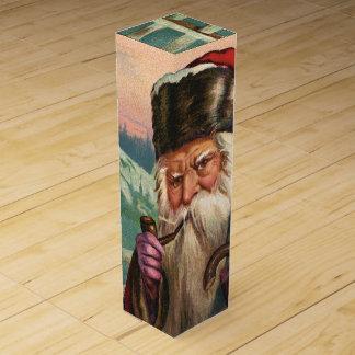 Alpine Santa Wine Gift Box