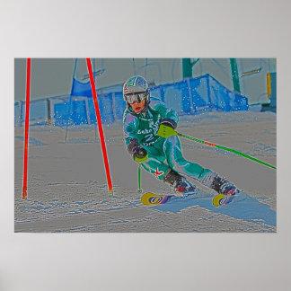 Alpine Ski Poster D1362-121