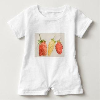 Alpine Strawberry Trio Baby Romper
