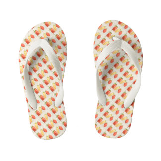 Alpine Strawberry Trio Kid's Flip Flops
