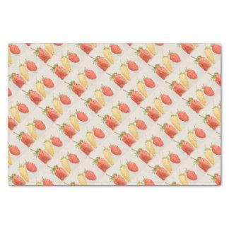 Alpine Strawberry Trio Tissue Paper