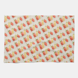 Alpine Strawberry Trio Towels