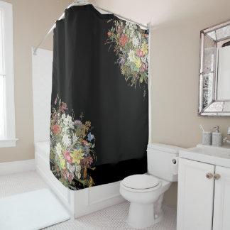 Alpine Wildflower Flowers Floral Shower Curtain