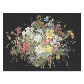 Alpine Wildflowers Flowers Bouquet Tissue Paper