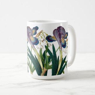 Alps Iris Summer Snowdrops Flowers Floral Mug