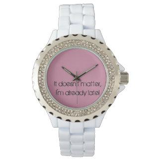 Already late watch-1 wristwatches