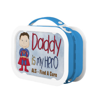 ALS - Daddy My Hero Yubo Lunch Box