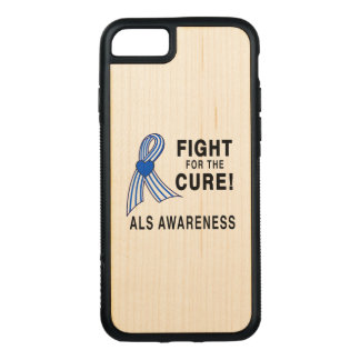 ALS: Fight for the Cure Carved iPhone 7 Case