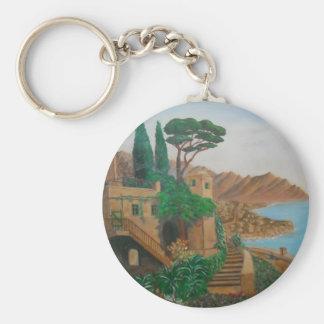 Al's Mediterranean Coast keychain