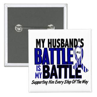 ALS My Battle Too 1 Husband Pins