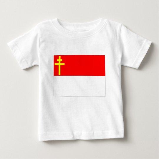 Alsace-Lorraine Flag Baby T-Shirt