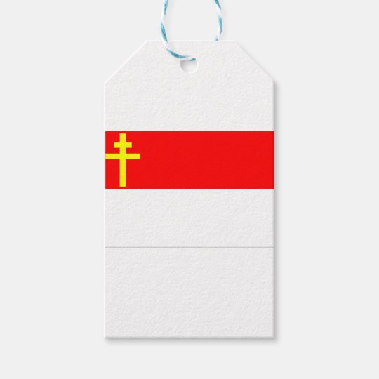 Alsace-Lorraine Flag Gift Tags