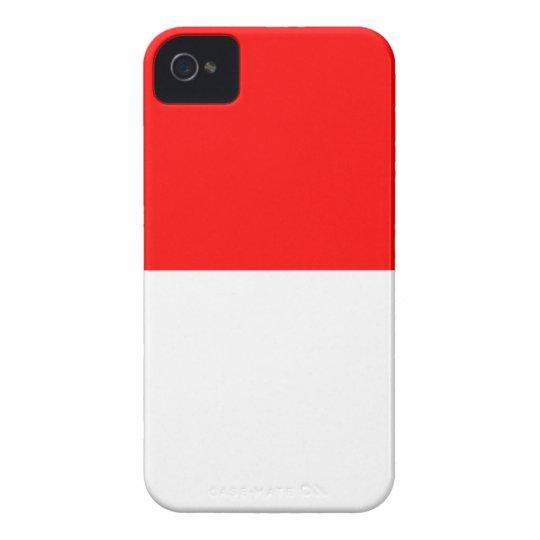 Alsace-Lorraine Flag iPhone 4 Case-Mate Case