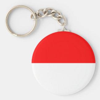 Alsace-Lorraine Flag Keychain