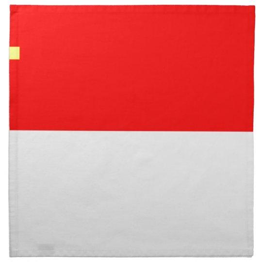 Alsace-Lorraine Flag Napkin
