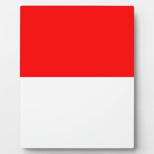 Alsace-Lorraine Flag Plaque