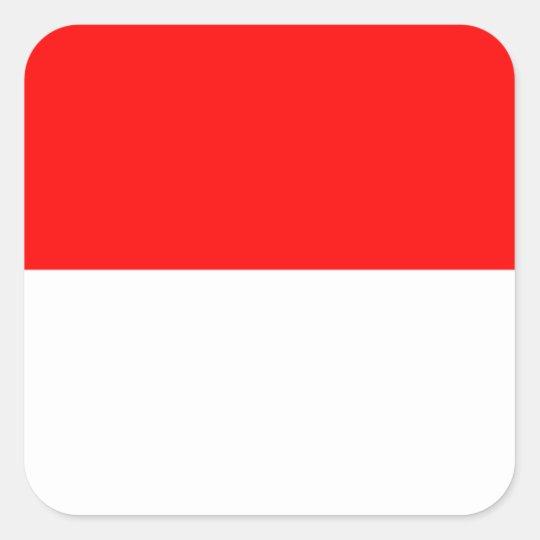 Alsace-Lorraine Flag Square Sticker
