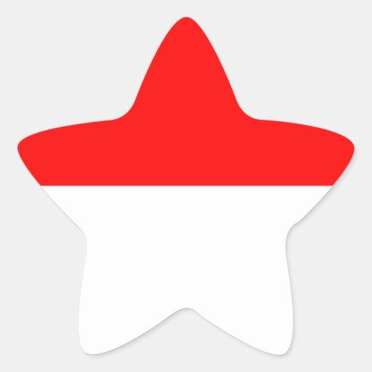 Alsace-Lorraine Flag Star Sticker