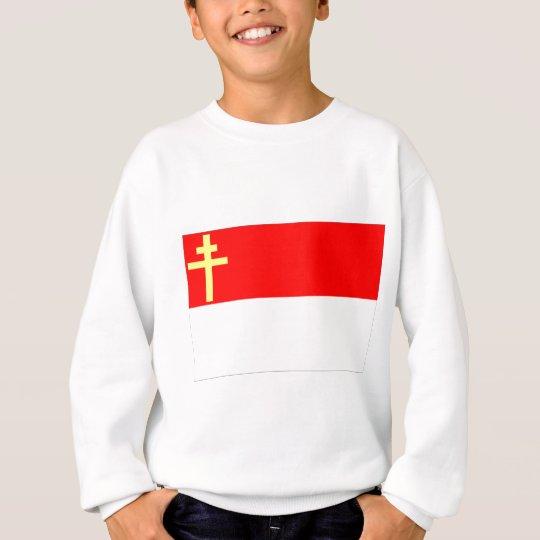 Alsace-Lorraine Flag Sweatshirt