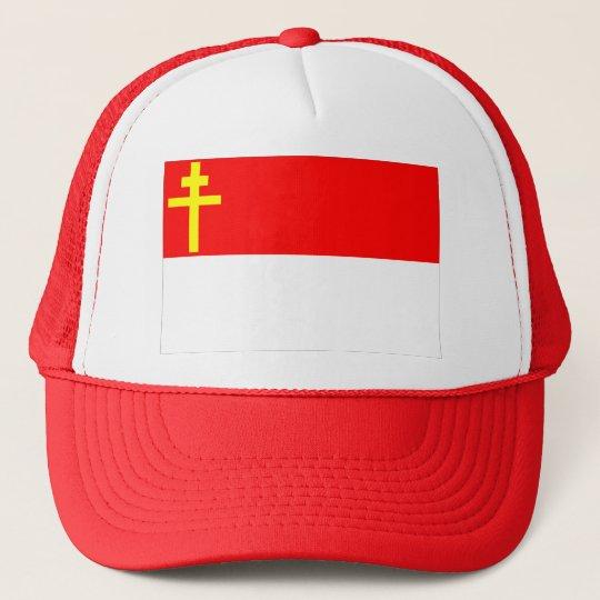 Alsace-Lorraine Flag Trucker Hat
