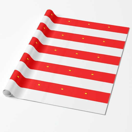 Alsace-Lorraine Flag Wrapping Paper