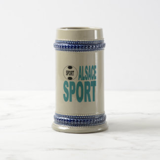 ALSACE SPORT CATCHES BEER STEIN