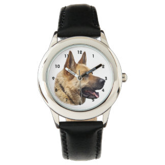 Alsatian German shepherd dog Wrist Watches