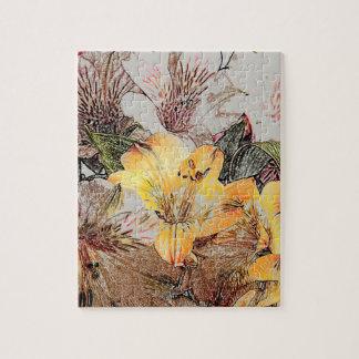 Alstroemeria Flowers Jigsaw/Puzzle Jigsaw Puzzle