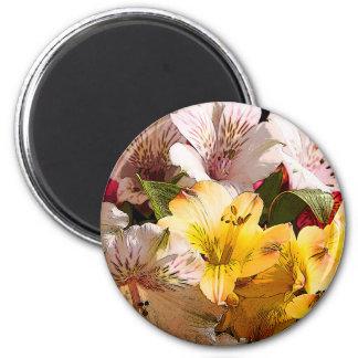 Alstroemeria Flowers Magnet