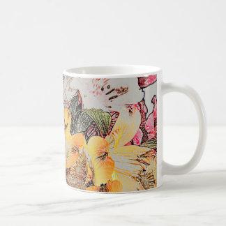 Alstroemeria Flowers Mug