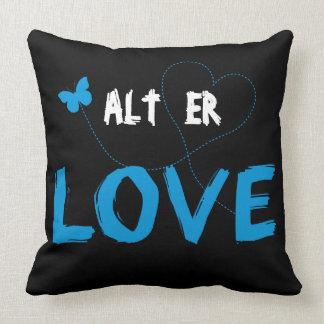 Alt Er Love Pillow (Blue)