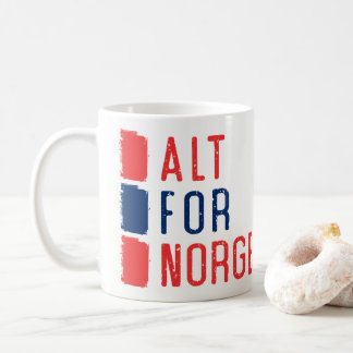 Alt for Norge, Norwegian Motto Mug