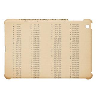Alt-Key Codes iPad Case
