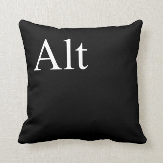 alt of ctrl, alt, delete throw pillow