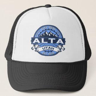 Alta Blue Trucker Hat