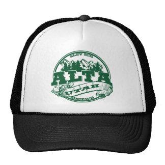 Alta Green Logo Trucker Hat