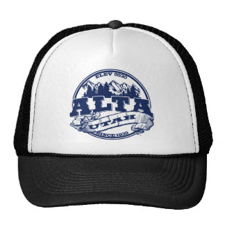 Alta Old Circle Blue Hats
