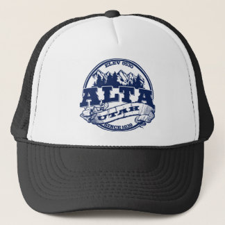 Alta Old Circle Blue Trucker Hat