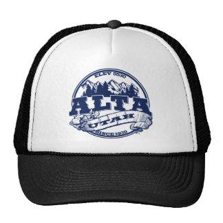 Alta Old Circle Blue Trucker Hat