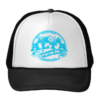 Alta Old Circle Ice Trucker Hat