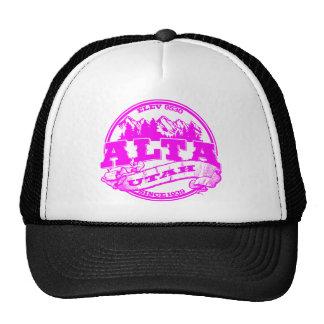 Alta Old Circle Pink Trucker Hat