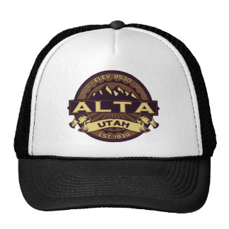 Alta Sepia Logo Trucker Hat