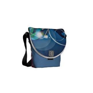 ALTAbstract Background with Flower Vector Art DIGI Messenger Bags