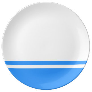 Altai Republic Flag Porcelain Plates