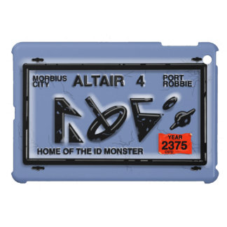 ALTAIR 4 FORBIDDEN LICENSE PLANET by Jetpackcorps iPad Mini Covers