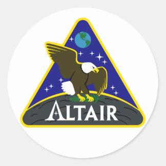 ALTAIR Lunar Exploration Vehicle Classic Round Sticker