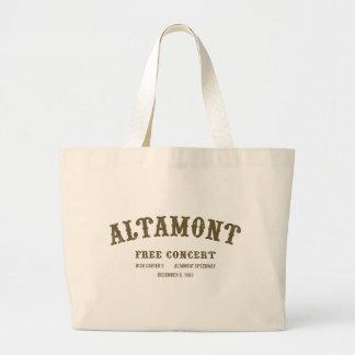 altamont free concert bag