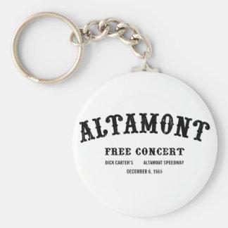 Altamont Free Concert Key Chains