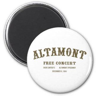 Altamont Free Concert Refrigerator Magnet