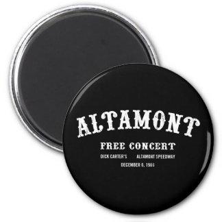 Altamont libèrent le concert magnets pour réfrigérateur